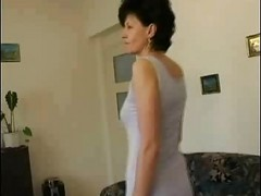 Horny Granny Wanks Sucks And Fucks