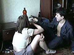 russian milf and boy