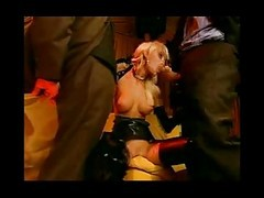 Hot Latex Euro Babe Tag Teamed Hard