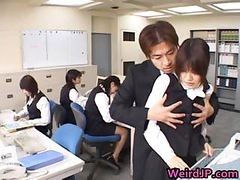 Cute Asian Secretary Fucked Part6