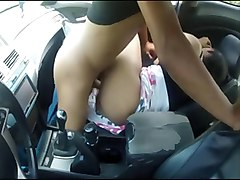 indian girl friend fucked in crazy car