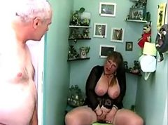 French Busty Mature Woman With Husband And boyfriend