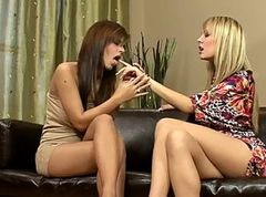 Lesbians - Angelica & Beatrice HD