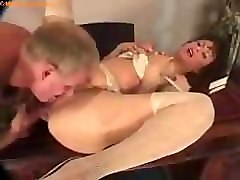 milf and young guy try the sex