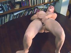 Hairy Masturbation And Orgasm