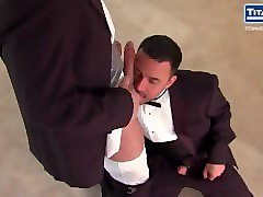 tuxedo suited stud daddies suck and fuck