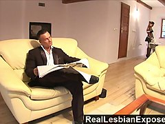 reallesbianexposed  lonely housewife fucks the maid