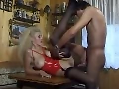 busty blonde milf with goes hard anal with orgasm