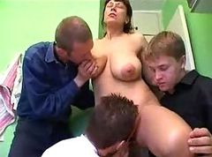 Russian Filth Mature AndMany Dicks