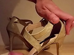 fuck my gf high heels shoes