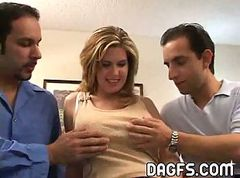 Two dick& 039;s inside your nasty wife