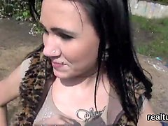 Adorable czech sweetie is tempted in the supermarket and rode in pov