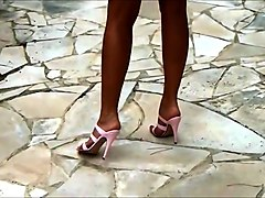 high heels vacation