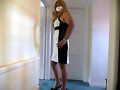 Fabulous amateur gay scene with Crossdressers, Fetish scenes