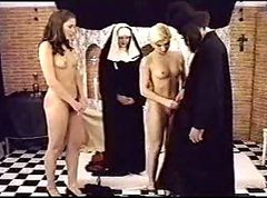 catholic nuns and priest