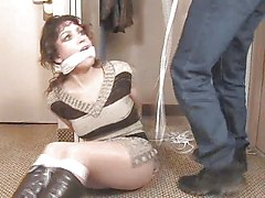 Hogtied Cleave Gagged