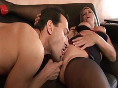 Chelsea Zinns Gets That Cock Ready For Her Ass By Sucking On It