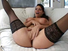 Deep Throating Horny Slut