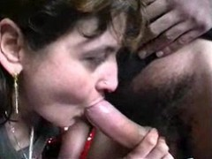 Roseline, Housewife In Threesome - Free Porn Video