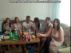 Group Fucking At Party