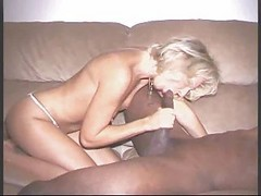 Bbc In German Blonde Housewife