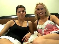 Marlena and Malbia - Lesbian Audition